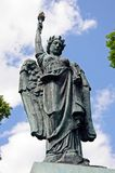 Winged Victory statue, Leominster. Royalty Free Stock Images