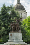 Winged Victory. Statue of Winged Victory in Olympia, Washington Royalty Free Stock Photos
