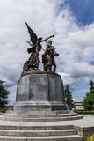 Winged Victory. Statue of Winged Victory in Olympia, Washington Stock Images