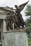 Winged Victory. Statue of Winged Victory in Olympia, Washington Stock Photos