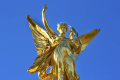 Winged Victory Victoria Memorial Buckingham Palace London England. Winged Victory Victoria Memorial Buckingham Palace Westminster London England.  Victoria Stock Photos