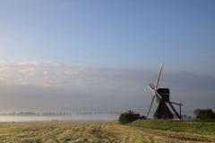 Wingerdse-Mühle nahe Bleskensgraaf Stockbilder