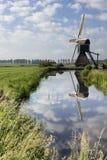 Wingerdse młyn blisko Bleskensgraaf Zdjęcie Royalty Free