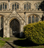 Wingrave Church Entrance  Buckinghamshire Royalty Free Stock Image