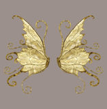Wings. Anngel and/or fairy wings for your artistic creations Royalty Free Stock Photography