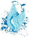 Wings. An abstract of bird wings vector illustration