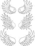 Wings Ansammlung Lizenzfreies Stockbild