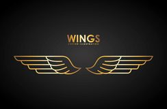Wings design Royalty Free Stock Image