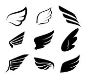 Wings design Stock Photography
