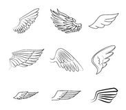 Wings design Royalty Free Stock Photography