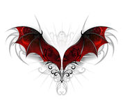 Wings of dragon Royalty Free Stock Images