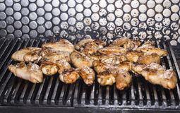 Wings grill Stock Images