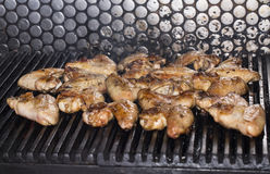 Wings grill Royalty Free Stock Images