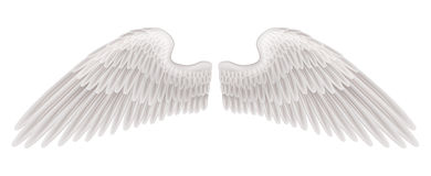 Wings illustration Royalty Free Stock Photography