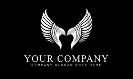 Wings Logo Royalty Free Stock Photos