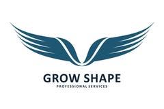 Wings logo Stock Photos