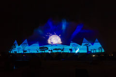 Free Wings Of Time Show In Singapore Stock Photography - 44066232