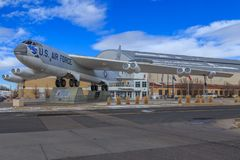 Wings Over the Rockies Air and Space Museum. Located at the former Lowry Air Force Base in Denver, Colorado the museum offers an aircraft collection, simulator royalty free stock photos