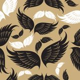 Wings pattern Royalty Free Stock Photography