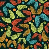 Wings seamless pattern Stock Photography