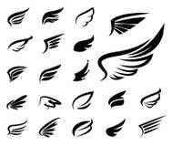 Wings  set Royalty Free Stock Image