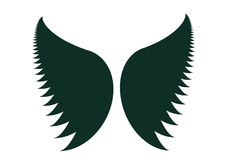 Wings Silhouette Royalty Free Stock Photo