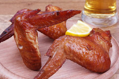 Wings snack to beer Stock Photo