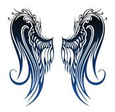 Wings. Tattoo design Stock Image