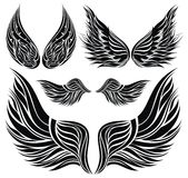 Wings tattoo design Stock Photo