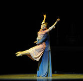 With wings to fly-The third act of dance drama-Shawan events of the past. Guangdong Shawan Town is the hometown of ballet music, the past focuses on the Royalty Free Stock Images