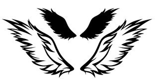 Wings vector Stock Photos