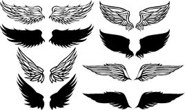 Wings Vector Graphic Images Royalty Free Stock Photography