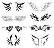 Wings vector set Stock Photography