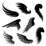 Wings Vector Set. Royalty Free Stock Image