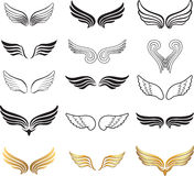 Wings Vector Set. Stock Images