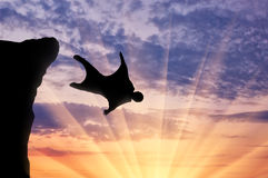 Wingsuit extreme sports Royalty Free Stock Photography