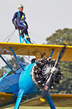 Wingwalker Stock Photo