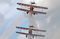 Wingwalkers display Stock Photography