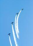 Wingwalkers na biplanie Obrazy Stock