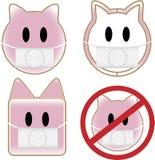 świni grypowe chlewnie Zdjęcie Stock