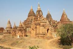 Winido tempel, Bagan, Myanmar Arkivbilder