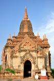 Winido tempel i Bagan, Myanmar Royaltyfri Fotografi