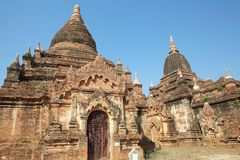 Winido Temple, Bagan, Myanmar Royalty Free Stock Photo