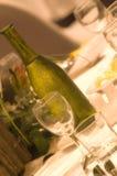 Wining en het Dineren Royalty-vrije Stock Foto's