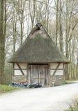 Świniowata jata, Hessenpark Niemcy Obraz Stock