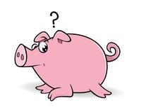 Świniowaty zastanawiać się Zdjęcie Stock