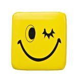 Wink smile badge Royalty Free Stock Images