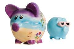 świnka banku Obrazy Royalty Free