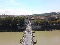 Winkel-Brücke Stockfoto