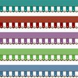 Winkel het Afbaarden Grafische Diverse Kleuren Royalty-vrije Stock Foto's